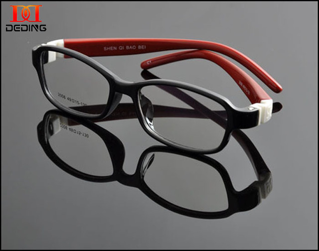 2015 niños marco óptico TR90 alta calidad marco de silicio de protección para los niños ojos armação de oculos infantil lentes ninosDD0904