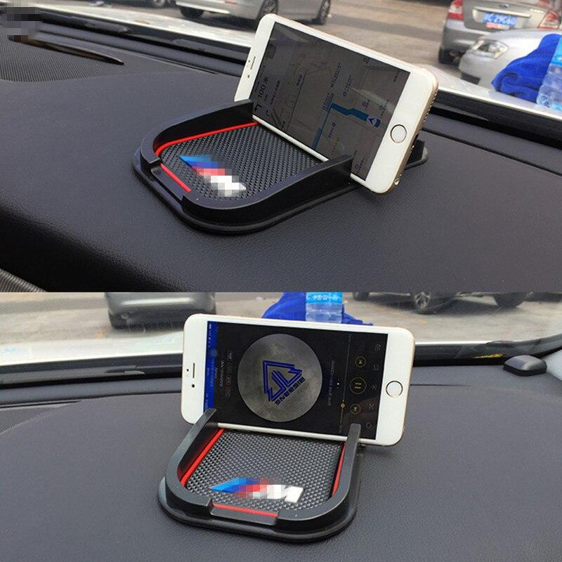 1X Auto Nicht-slip Pad Zubehör Für BMW E60 E46 E39 E60 E90 F30 E36 F10 X5 E70 E53 e30 F20 E34 M 525i 3 5 1 7 Serie Auto Aufkleber