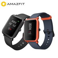 Xiaomi Huami Amazfit Bip smart watch wersja młodzieżowa tempo Lite Bluetooth 4 0 GPS tętno 45 dni pracy IP68 tanie tanio Noctilucent Passometer Naciśnij wiadomość Budzik Przypomnienie połączeń Angielski Rosyjski Hiszpański Wszystko kompatybilny