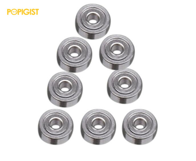 POPIGISTMini 4wd 620 Ball Bearing Self-madeParts ForTamiya MINI 4WD 620 Ball Bearing for the Chasis of  MINI 4WD S013 10Pcs /lot