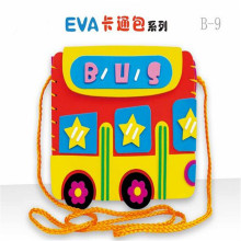 5pcs/lot EVA handmade bag sticker toys for children DIY  Early Educational learning Toys
