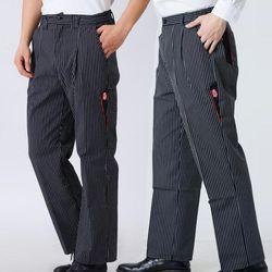 Unisex chef calças Outono e inverno de food service Frete Grátis outono calças Cozinhe trabalhar calças verificado listrado calças do chef