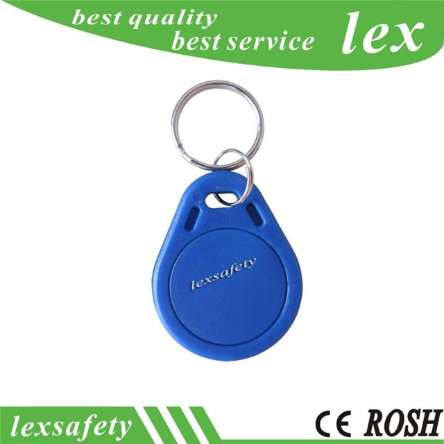 RFID M1 S70 KEY TAG, RFID TAG For Access Control System Or Time Clock,  ISO14443A MF1 S70, Frequency: 13 56MHz Free Shipping-in IC/ID Card from