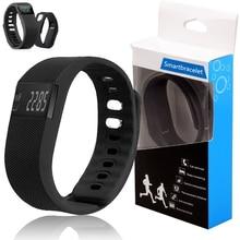 Бесплатная Доставка TW64 Bluetooth SmartBracelet Спортивные Часы Шагомер Счетчик Калорий Трекер Фитнес-Браслет