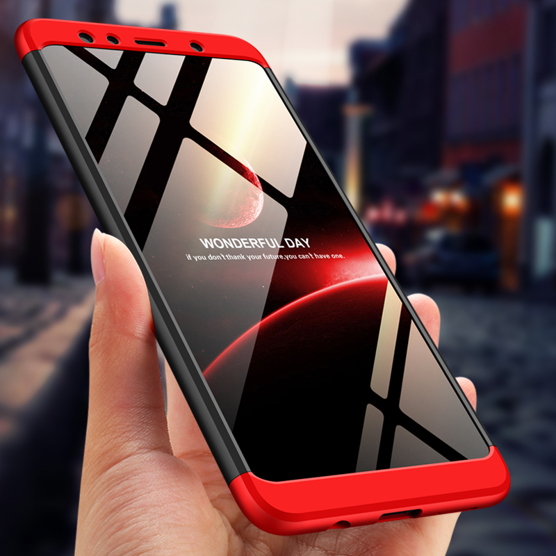 official photos 55b3d 3c070 US $2.99 22% OFF|For Samsung Galaxy A7 2018 Case 360 Full Protection 3 IN 1  Ultra Thin Hard PC Back Cover For Samsung A70 A50 A30 A60 Case-in Fitted ...