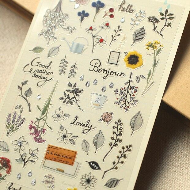 Secret Garden Planner Stickers Diy Decorative Sticker for Scrapbooking, Calendars, Arts, Kids DIY Cr