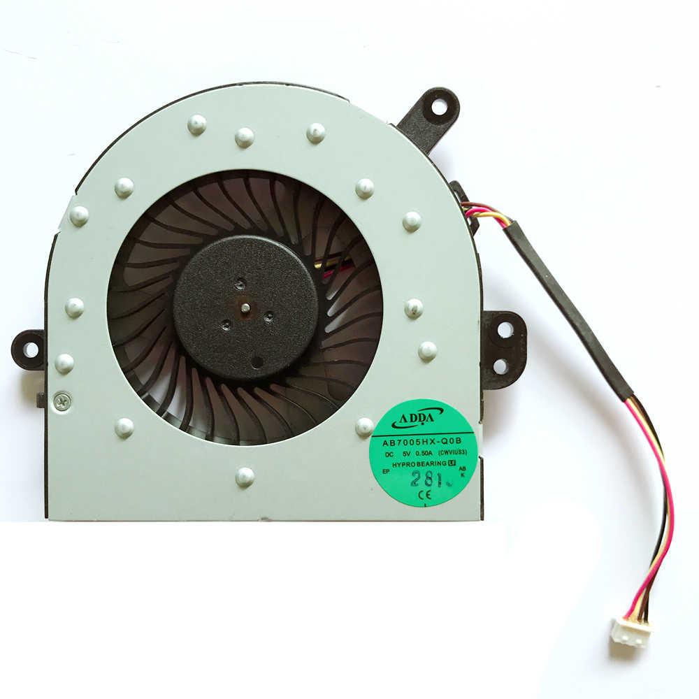 Новый вентилятор для процессора ноутбука охладитель Тетрадь PC подходит для lenovo ideapad M40-70A M40-70 M40-35A S40-70 AB7005HX-Q0B (CWVIUS3)