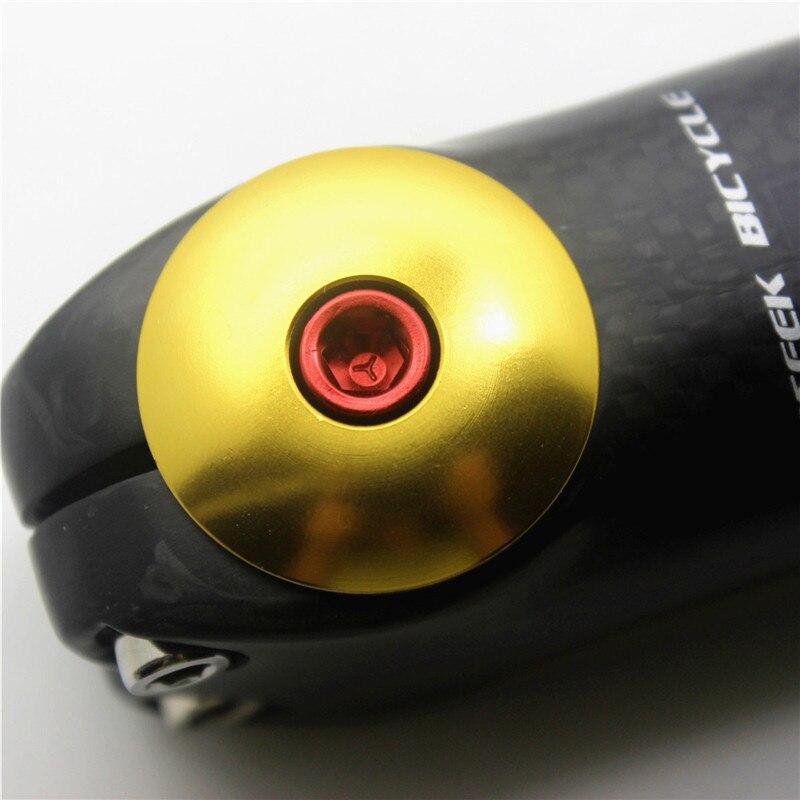 Origin 8 Brand 1 1//8 Bicycle Headset Top Cap Stem Cap Yellow