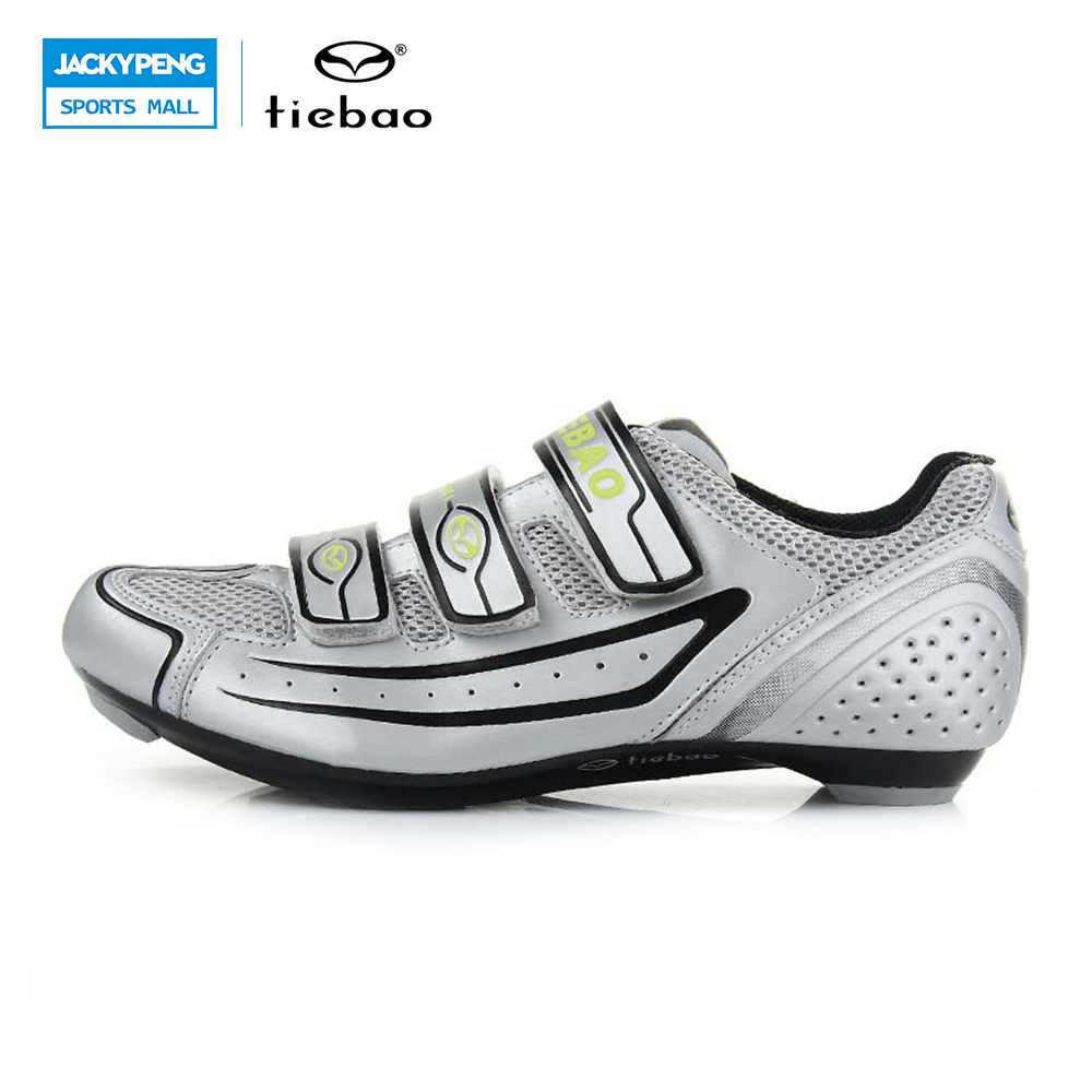 TIEBAO Cycling Shoes Road Scarpe Ciclismo Cycling Road Bike Sports Bicycle Men Athletic Shoes Men Outdoor Shoes Cycling Boots tiebao tb02 b943 men s outdoor sports cycling shoes black white pair size 42