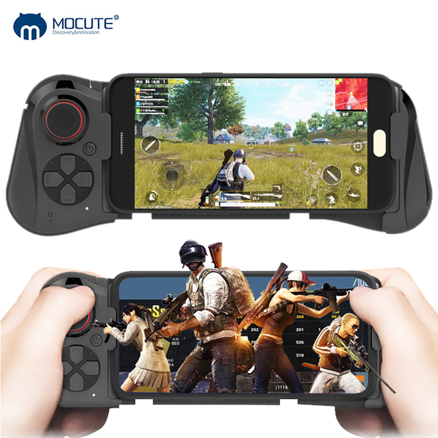 Mocute 058 Wireless Game pad Bluetooth Android Joystick VR Telescopic Gaming Controller Support PUBG Mobile Gamepad for iPhone