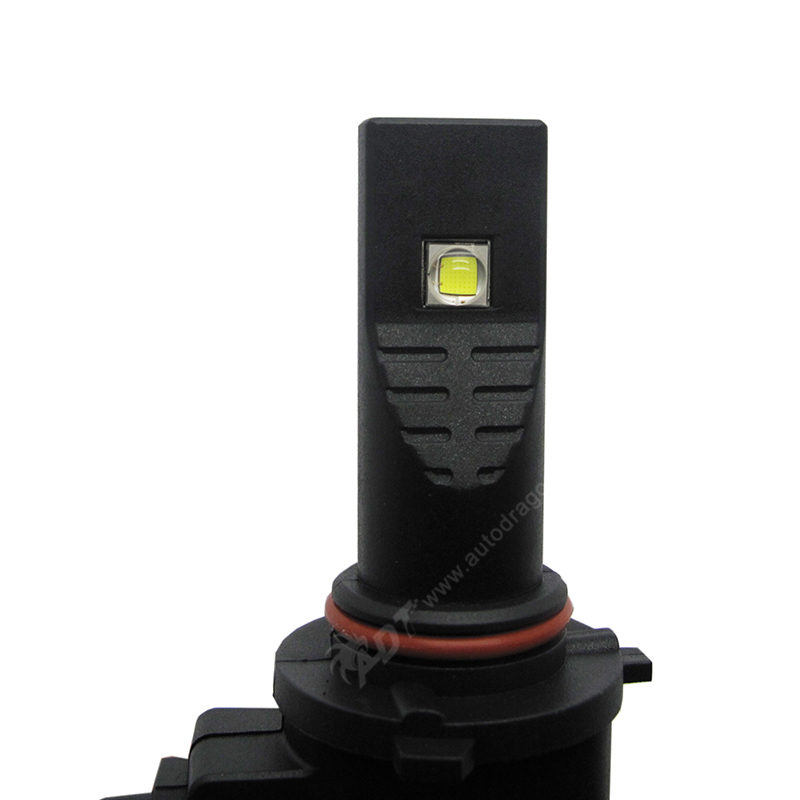 Auto LED Headlight Kit Canbus NO Fan Heatsink Build-in 40W 5000LM cr led single beam 9005 led headlight bulb 6000K fog Light 12v led light auto headlamp h1 h3 h7 9005 9004 9007 h4 h15 car led headlight bulb 30w high single dual beam white light
