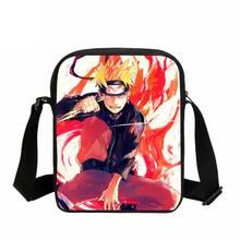 3d53195a5a41f VEEVANV mężczyźni torba moda Anime Uzumaki Naruto drukowanie torebki  kobiety Cartoon Crossbody torba dzieci szkoła torba