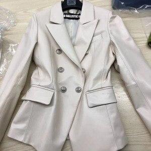 Image 4 - 2017 lady kurtka z prawdziwej skóry kobiet prawdziwa skórzana kurtka