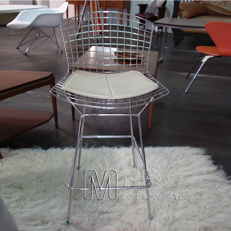 Prime Us 599 0 Wire Tall Metal Bar Stool Chair Leisure In Bar Chairs From Furniture On Aliexpress Com Alibaba Group Machost Co Dining Chair Design Ideas Machostcouk