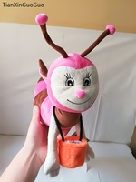 large 30cm lovely pink bee plush toy soft doll kid's toy Christmas gift s2220