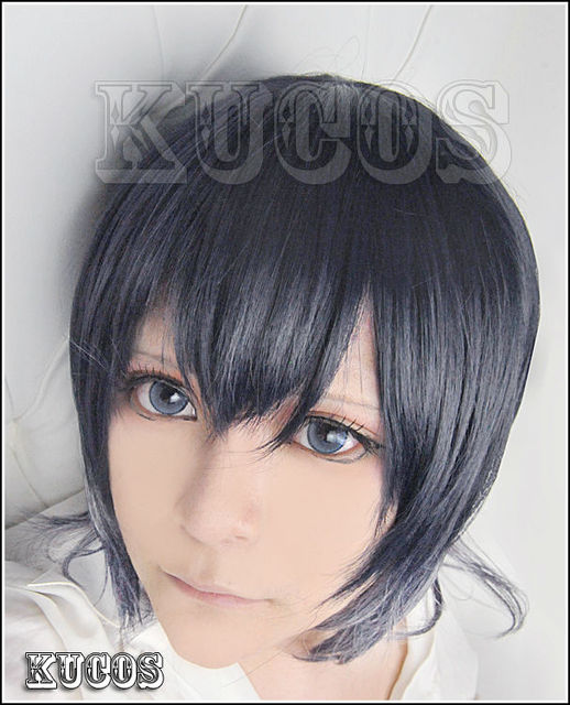 New High Quality DIABOLIK LOVERS Anime Hair Wigs Azusa Mukami Short Cosplay Costume Wig Party WIG