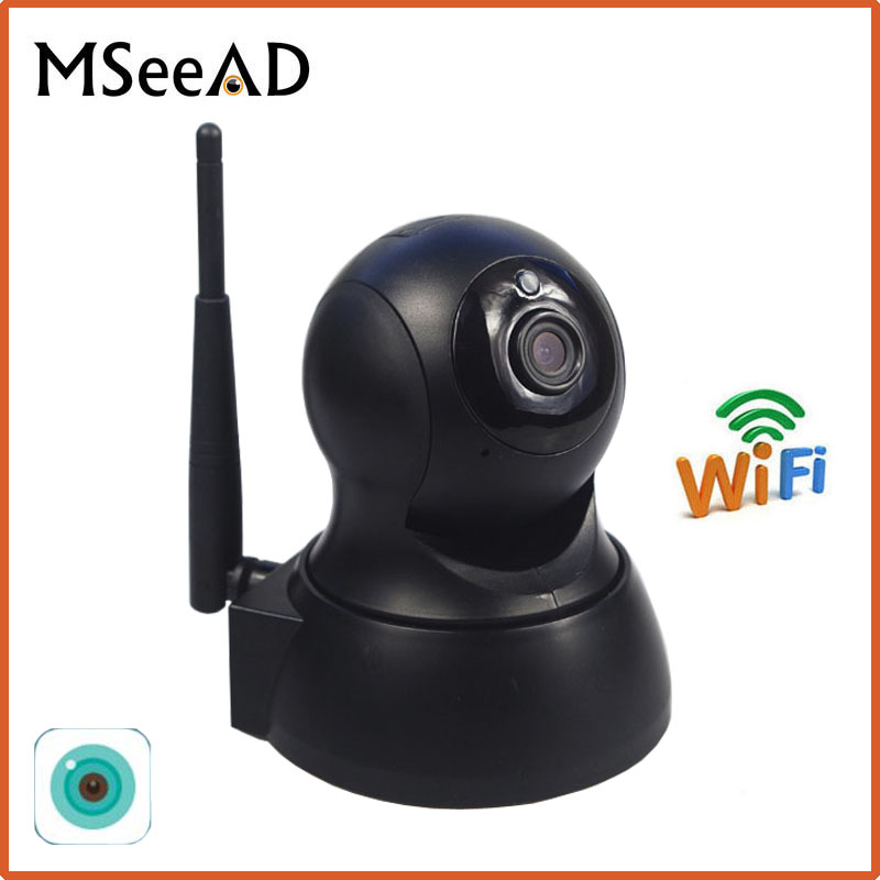 MSeeAD HD 720P IP Camera Wi-Fi CCTV Cam Security Network Camera WiFi Wireless IP Camera Baby Monitor Audio QR CODE Scan Connect