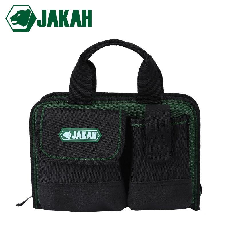 JAKAH JK014 Wholesale Electrician Repair Bags Small Hand Bag Oxford Waterproof Wear-resisting Tool Bag Free Shipping