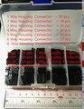 Conjuntos Kit com caixa 168 pcs Dupont 1 P/2 P/3 P/4 P/5 P/6 P/8 P/2*2/2*3/2 * 4PIN Habitação Terminal de Reservatório de plástico Conector Jumper set