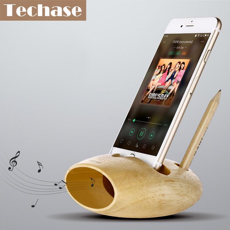 Comprar soporte de teléfono de madera para iPhone para Samsung - Accesorios y repuestos para celulares - foto 6