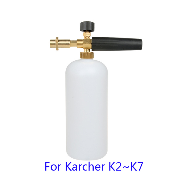 Spieniacz mydła wysokociśnieniowy spieniacz opryskiwacz/Generator pianki/pistolet do piany broń/pianka śnieżna Lance dla Karcher K2 K3 K4 K5 K6 K7 myjnia samochodowa