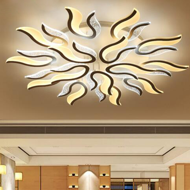 Led creative ceiling lamp simple modern atmospheric living room lamp home room bedroom ring warm Nordic lamps led lighting lamp nordic stars led atmospheric living room lighting modern minimalist restaurant bedroom lamp creative fashion ceiling lamp led