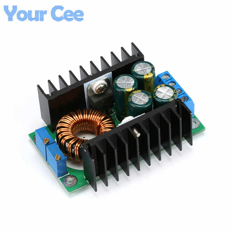 DC-DC CC CV Buck Converter Volt Step Down 12V 19V 24V Car Laptop Power Supply Module 7-40V to 1.2-35V 8A 300W with LED Indicator