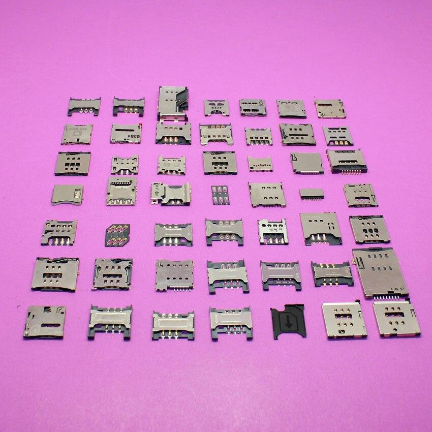 49Models for Blackberry Q5 Z30/ samsung N7000 i9000 I9003/ Hua wei P6 P7/ Sony Xperia Z LT36 L36 C6602 Sim card socket reader