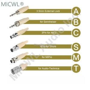 Image 3 - Spedizione Gratuita Omnidirezionale Testa Indossando Cuffie Con Microfono per Shure Audio Technica Sennheise MiPro Wireless Sistema