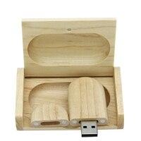 Movimentação de madeira criativa real 64gb 3.0 gb 128gb 256gb da pena do pendrive 512 do flash de usb do presente de bambu 1tb cartão da vara da memória disco na chave