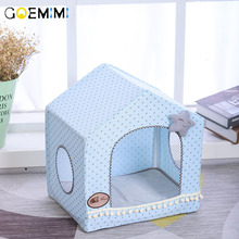 2019 Dog House Breathable Indoor Tent For Cats Pet Comfortable Summer Winter Kennel Puppy Top Quality cat cave