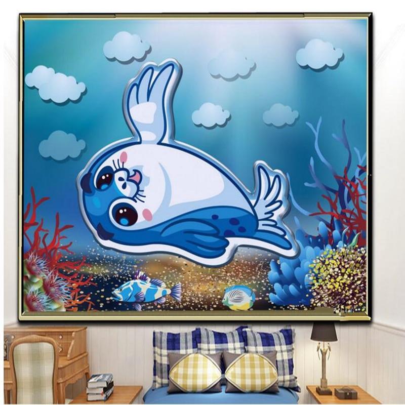 Baby Wallpaper Desktop Wallpaper Hd 3d Modern Minimalist relief Underwater World Free Wa ...