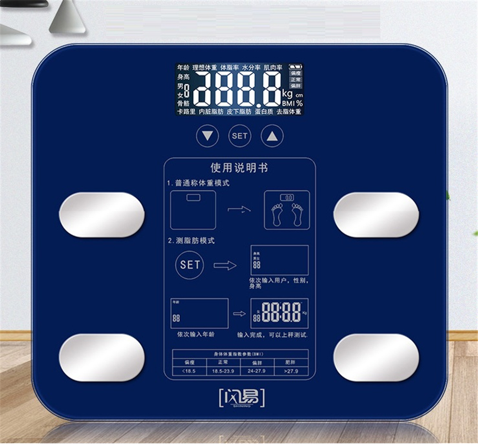 Bathroom Body Weight Scale Scales Glass Smart Household Electronic Digital Floor Weight Balance Bariatric LCD Display PK xiaomi mini smart weighting scale digital household body scale lcd display electronic weight balance health care new