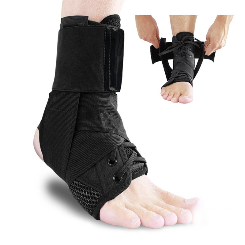 Sport Ankle Braces Bandage Straps Sports Safety Adjustable Comfortable Compression Ankle Protectors Supports Guard Foot