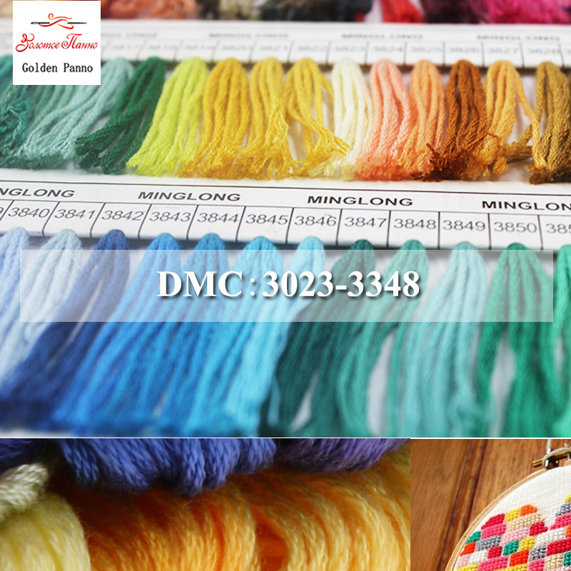 Choice 3021 3032 3051 3326 /& 3347 Stranded Cottons DMC Embroidery Threads