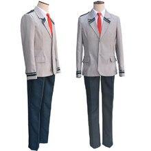 Anime boku nenhum herói academia asuitsuyu yaoyorozu escola uniforme cosplay traje boku nenhum herói academia headwear