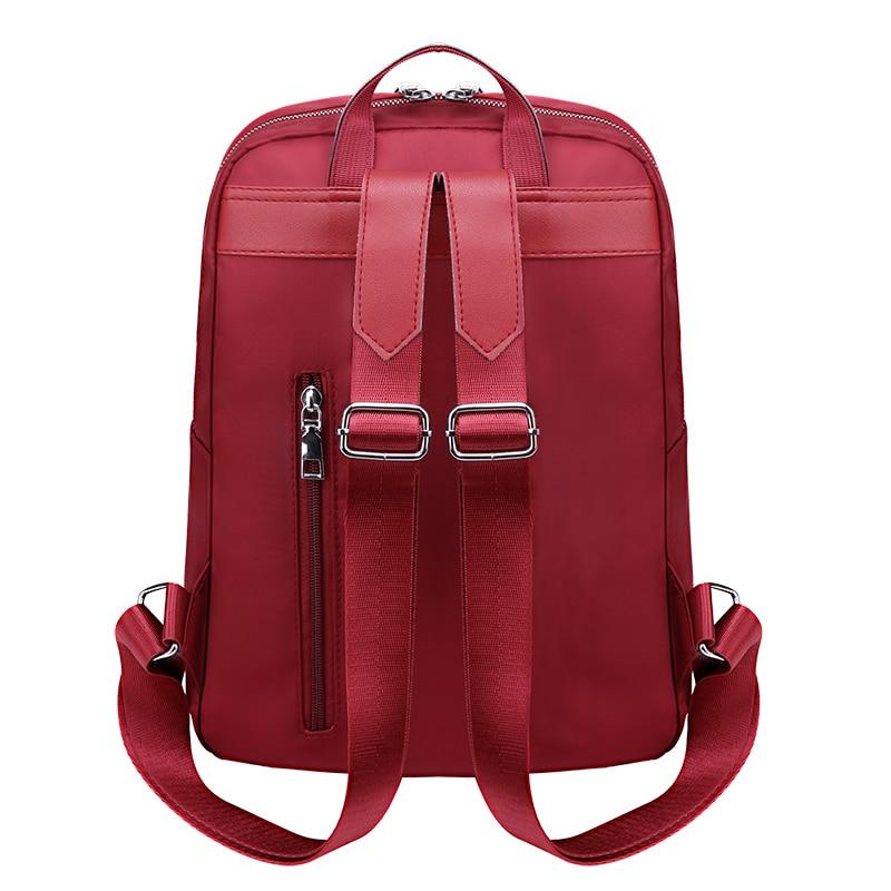 Waterproof Oxford Women Backpacks Zipper School Bags For Teenagers Girls Anti theft Backpack Female Rucksack Mochilas Feminina in Backpacks from Luggage Bags
