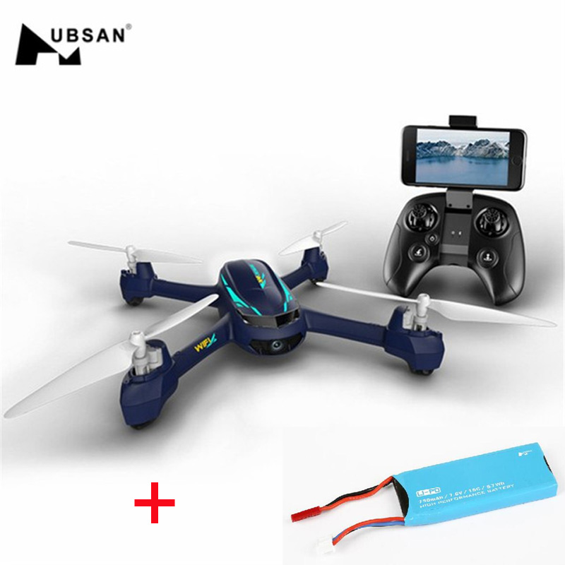 (With Two Batteries )Hubsan H216A X4 DESIRE Pro WiFi FPV With 1080P Camera Altitude Hold Mode RC Drone Quadcopter RTF original hubsan h216a x4 desire pro gps wifi fpv with 1080p hd camera altitude hold mode headless mode rc drone quadcopter rtf