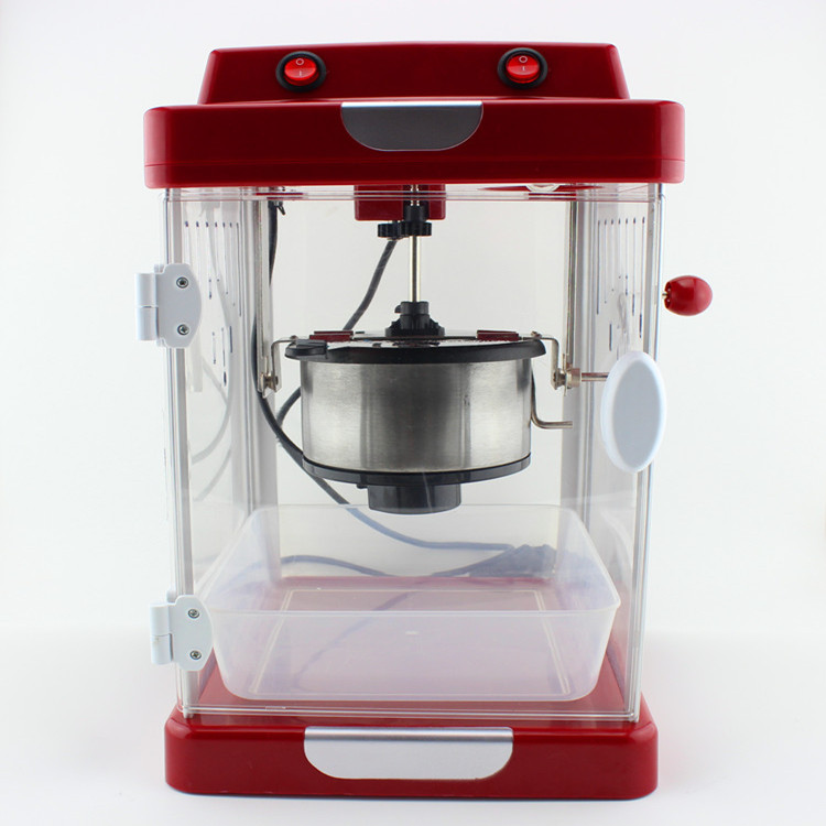 The new American small popcorn machine commercial popcorn maker household electric automatic stainless steel pot explosion edtid new high quality small commercial ice machine household ice machine tea milk shop