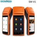 """5.5 """"Дисплей Wifi/3 Г/Bluetooth Портативный Мини Android Пос Терминал с Термопринтер Штрих-Код Сканер"""