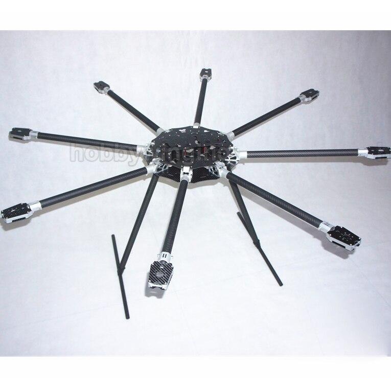 FPV CNC Aluminum Folding 1300mm Carbon Fiber UAV Octacopter Frame Kit password jdm get ruckus zoomer billet aluminum frame extension kit [green] 11 passwordjdm