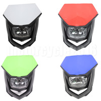 Universal Motorcycle Accessories Headlights Fairing Head Light Lamp For Kawasaki Honda Suzuki Streetfighter Dirt Bike Moto Light