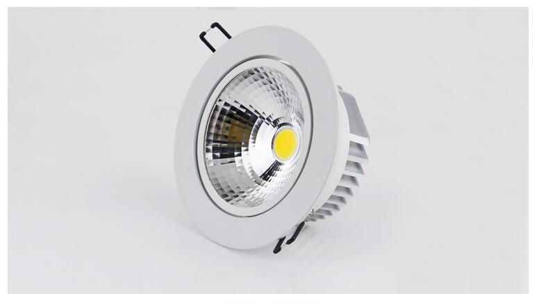 Dimmable LED Downlight 5W 7W 10W 12W 15W 20W 30W Spot LED DownLight - შიდა განათება - ფოტო 4