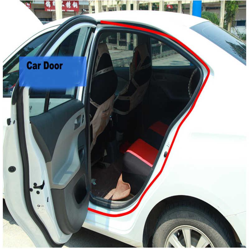 1 Meter Mobil Pintu Segel Strip Big D Kecil D B Jenis Perekat Tahan Air Trim Isolasi Suara Kedap Suara Weatherstrip karet