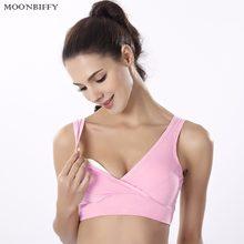 b403423c8d New Comfortable Cotton Breast feeding Maternity Bra sleeping Nursing Bra  Pregnant Women Sport Bra Yoga Bra
