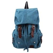 Mode Für Männer Rucksack Vintage Leinwand umhängetasche Rucksack schultasche reisetasche