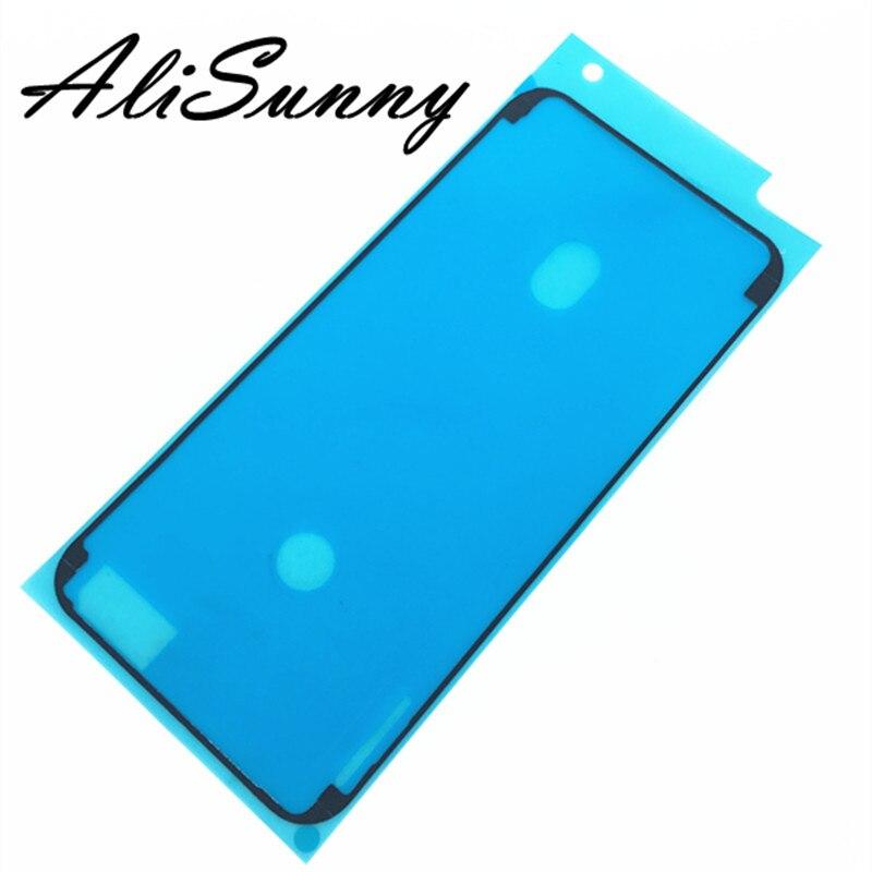 AliSunny 10 шт водонепроницаемый стикер для iPhone 7 6S Plus 7Plus 8X8P 3M клей предварительно вырезанный ЖК-экран Рамка лента запасные части