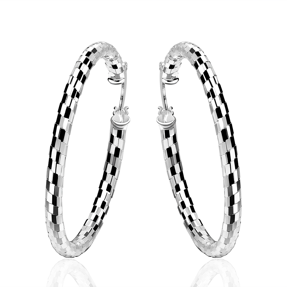 Rock Fashion Basketball Wives Round Hoop Loop Earrings Simple Party  Piercing Body Exquisite Women Jewelry Pendientes
