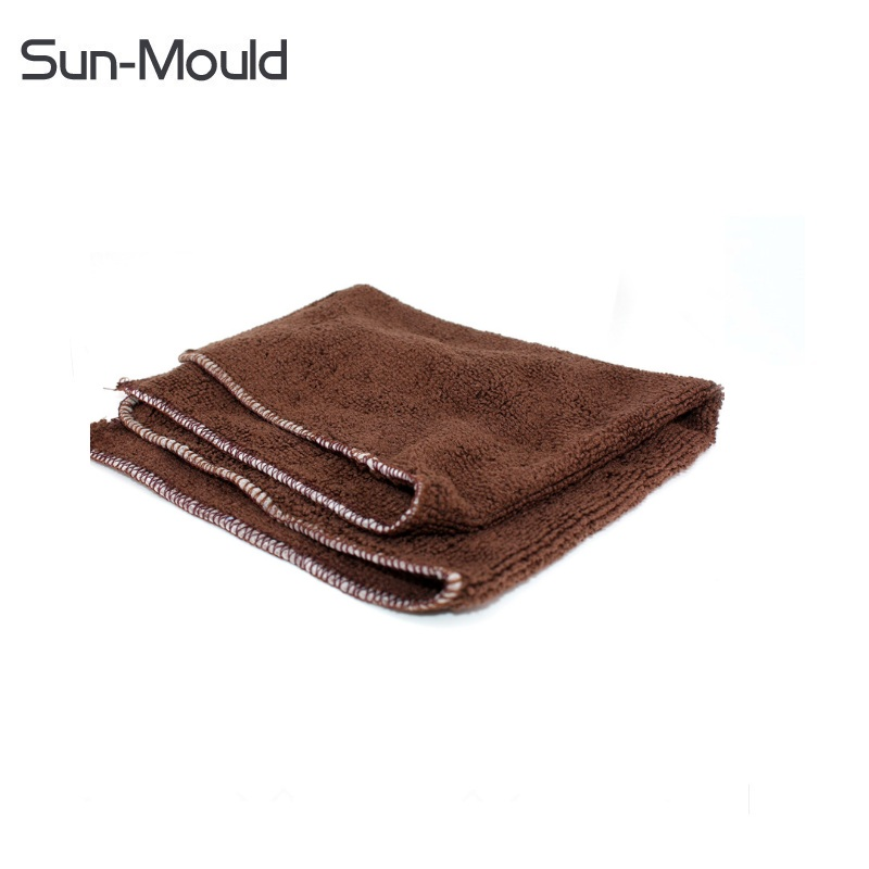 NEW 30x32cm leather shoes polish cloth shoes cleaning cloth care kit sets tools peavey yellow polish cloth