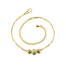 Wholesale New Fashion Women Fine Jewelry Woman Zircon Anklets Bracelet Female Foot Chain YMW-ZD114
